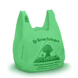 Shopper Bio Neutre Eco Green cm 24+12X42