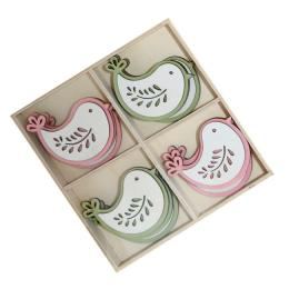 Box Decorazione Assortita Birds cm 5,2x5,9